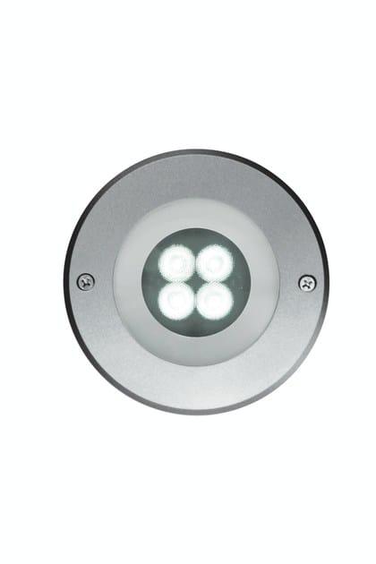LED steel underwater lamp EGO F.4901 by Francesconi & C.