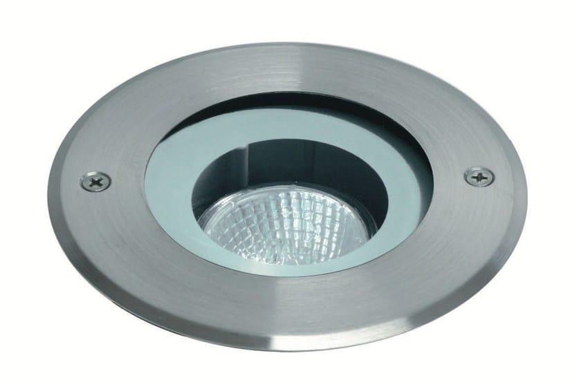 Halogen stainless steel steplight EGO F.904 by Francesconi & C.