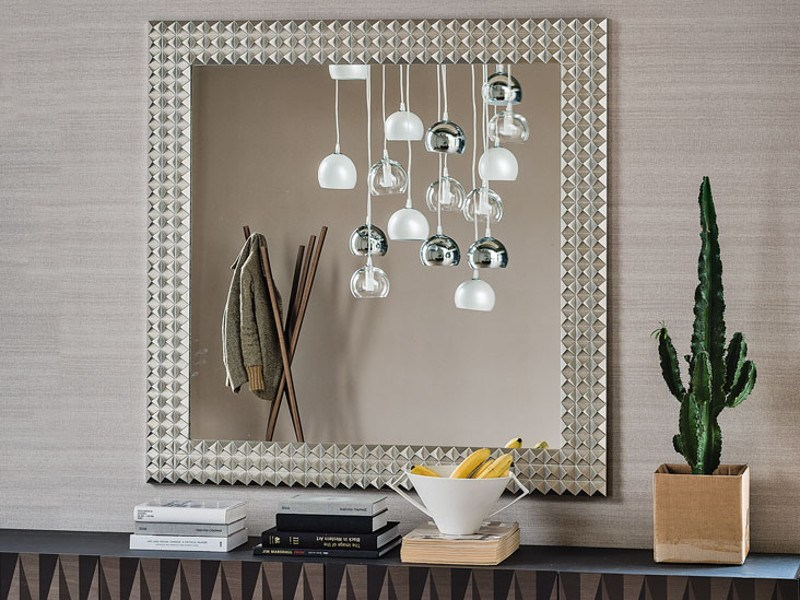 Square framed mirror EGYPT by Cattelan Italia
