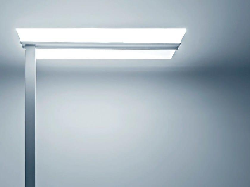 LED extruded aluminium floor lamp EIFFEL   Floor lamp by Plexiform