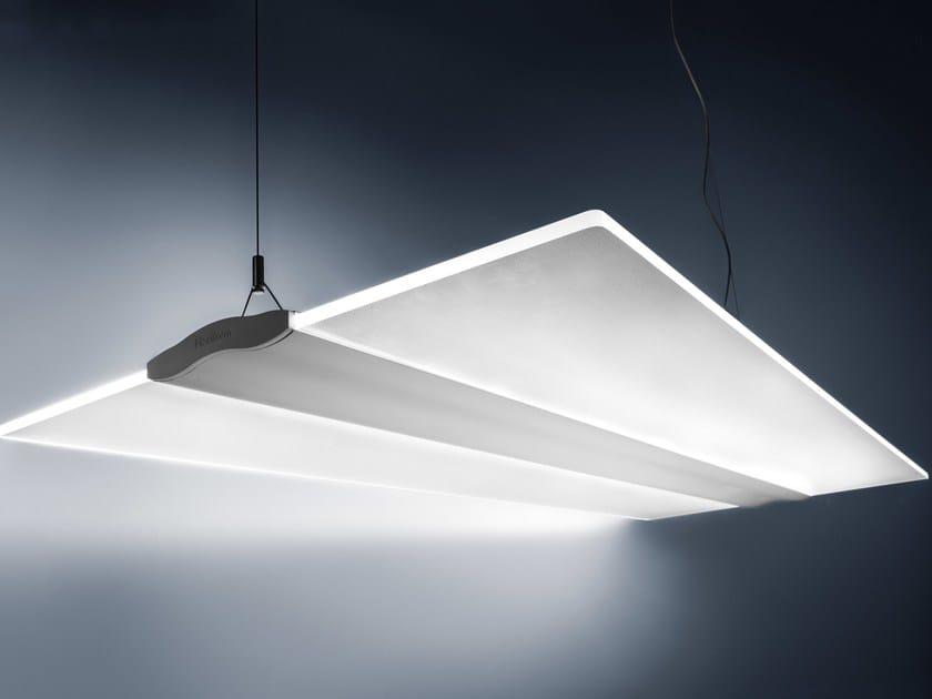 LED direct light aluminium pendant lamp EIFFEL | Pendant lamp by Plexiform
