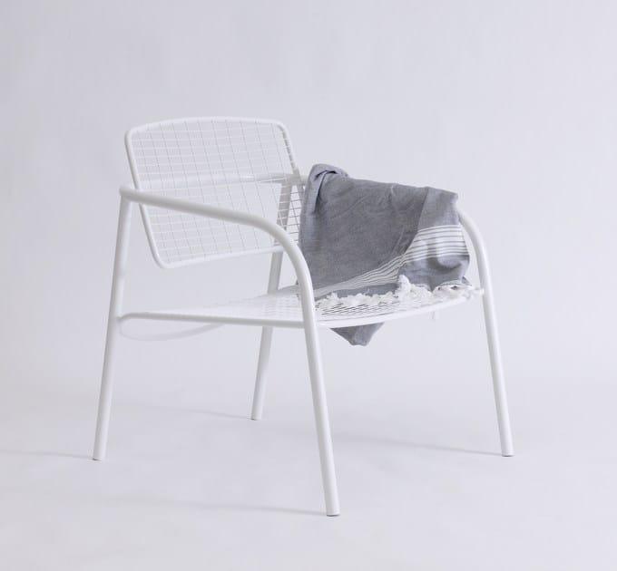 Giardino Asplund Inox Poltroncina Eija Braccioli Metal Acciaio Moderno Con In Da Stile QdsrxthC