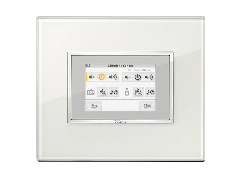 Home automation system for audio / video for households EIKON EVO   Home automation system for audio / video by VIMAR