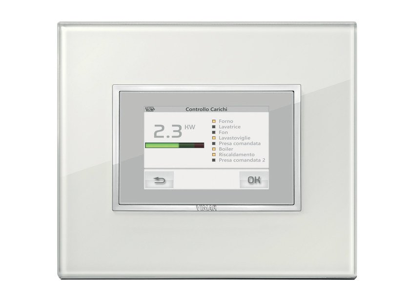 Home automation system for electrical loads for households EIKON EVO | Home automation system for electrical loads by VIMAR