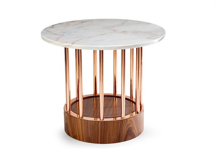 Marble high side table EILEEN | High side table by Mambo Unlimited Ideas