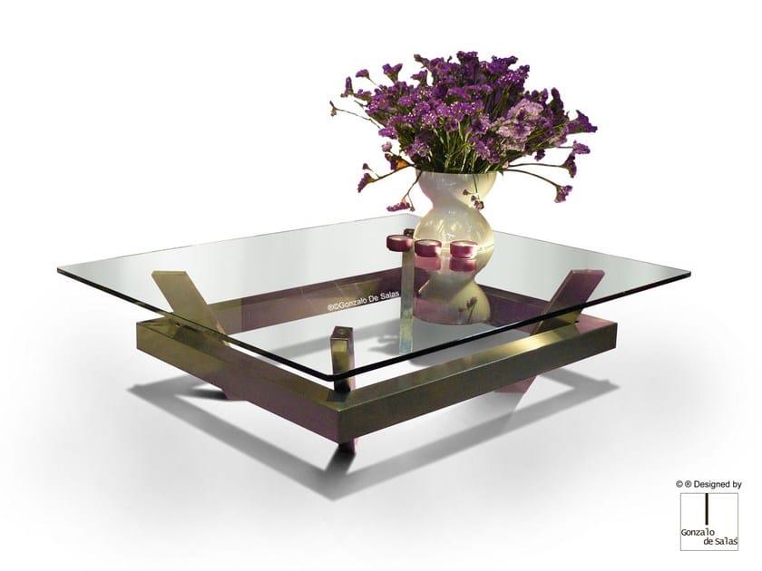Glass coffee table EIMI by Gonzalo De Salas