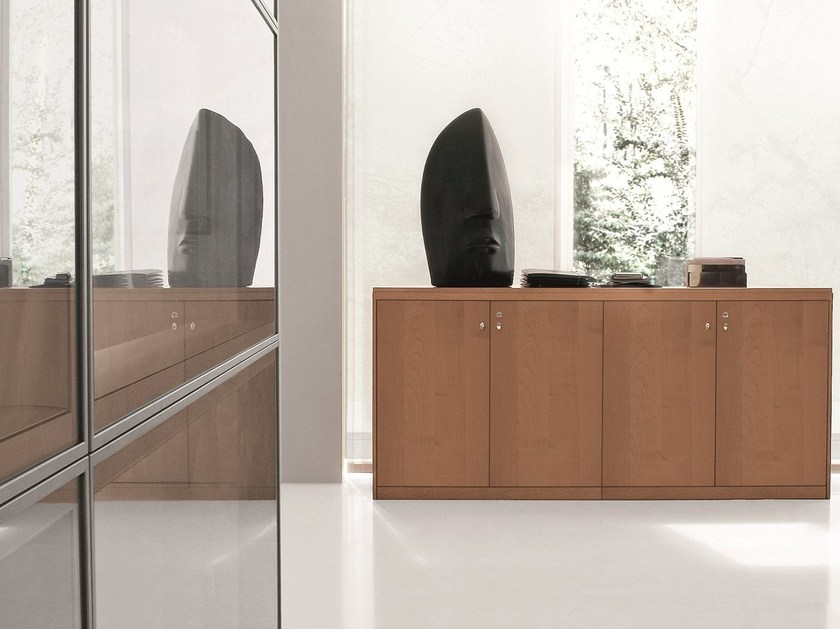 Low office storage unit with casters EKO | Low office storage unit by Archiutti