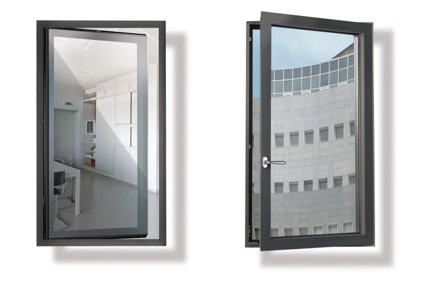 Finestra a taglio termico in alluminio EKU PERFEKTION® STRUTTURALE by PROFILATI