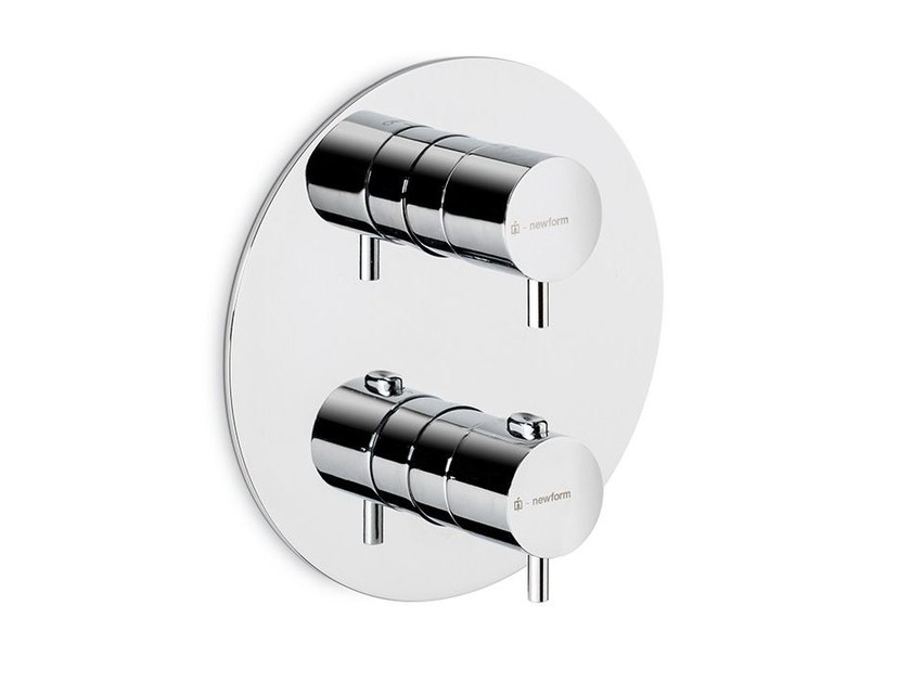 Thermostatic thermostatic shower mixer EL-X | Thermostatic shower mixer by newform