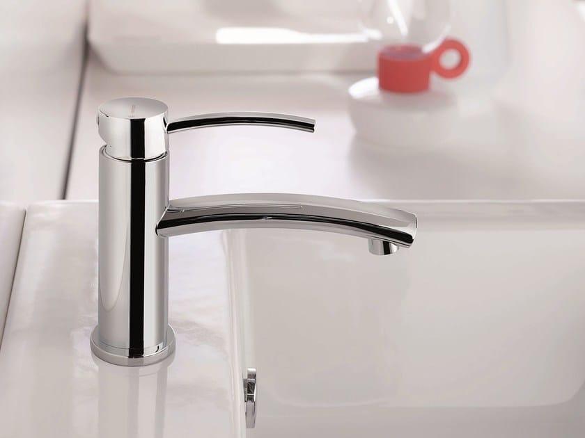 Single handle washbasin mixer without waste EL-X | Washbasin mixer without waste by newform