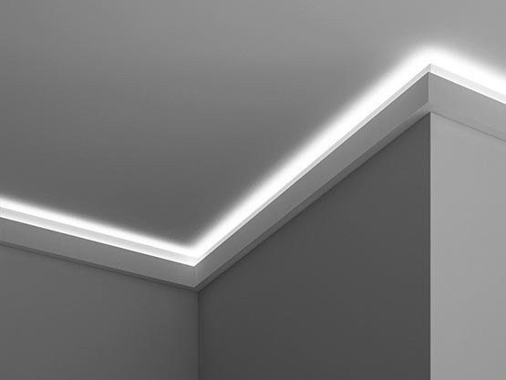 Cornice per illuminazione indiretta EL501 | Cornice per ...