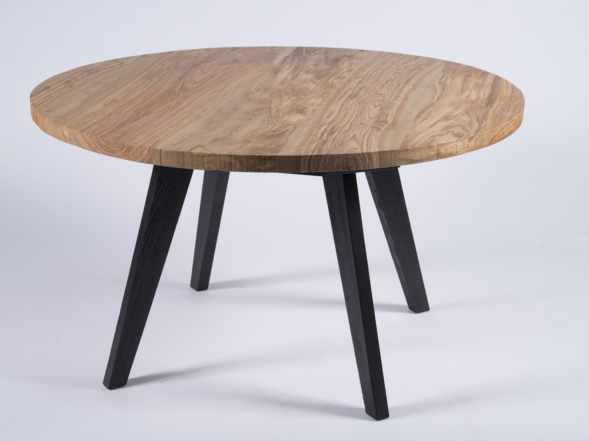 Solid wood table ELAIOS by F.lli Groppo
