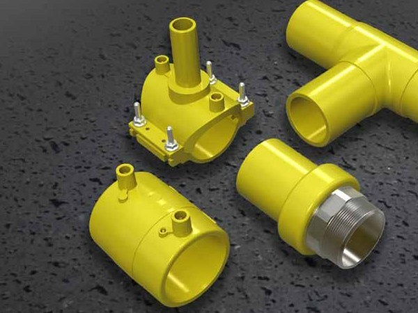 Pipe for domestic gas network ELAMID by NUPI