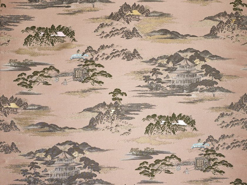 Jacquard cotton upholstery fabric ELECTRIC DREAMS by Dedar