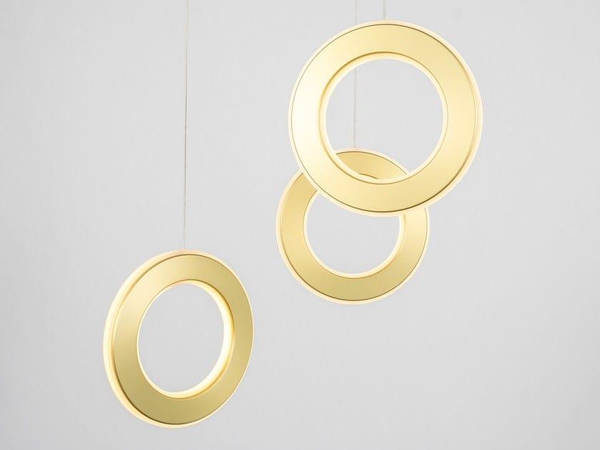 Lampada a sospensione a LED ELECTRON TRI | Lampada a sospensione by Karice