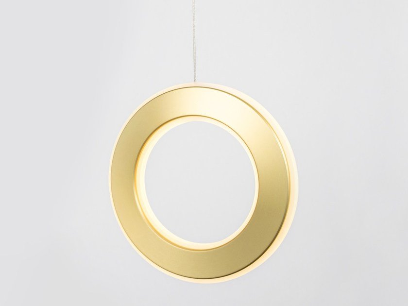 Lampada a sospensione a LED a luce diretta ELECTRON | Lampada a sospensione by Karice