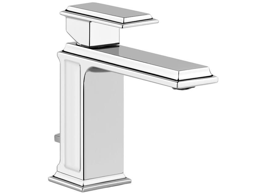 Single handle washbasin mixer with pop up waste ELEGANZA 46001 by Gessi