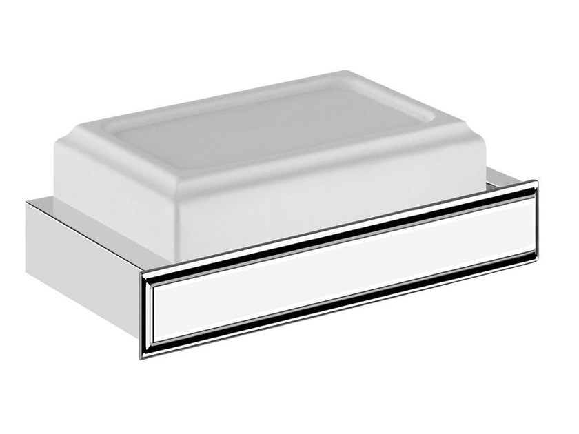 Wall-mounted soap dish ELEGANZA ACCESSORIES 46401 by Gessi