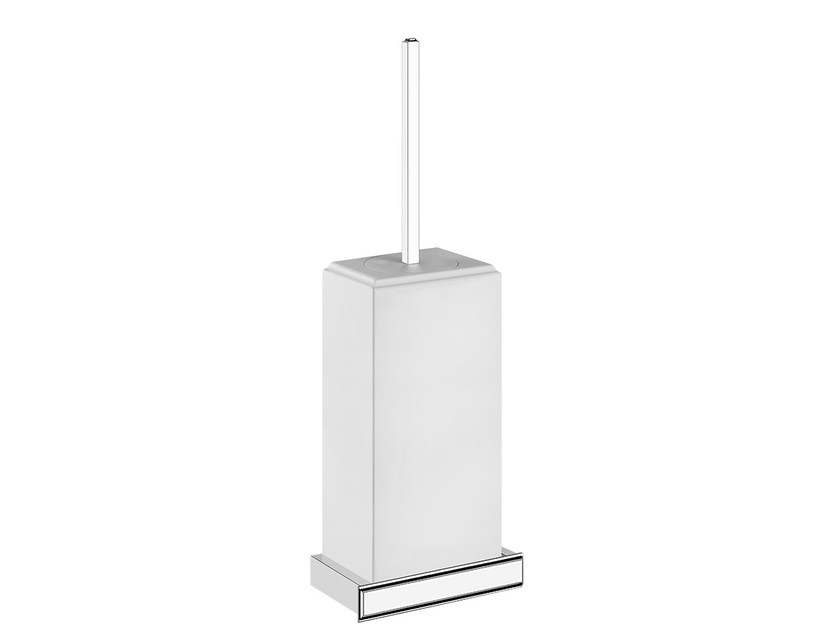 Wall-mounted toilet brush ELEGANZA ACCESSORIES 46419 by Gessi