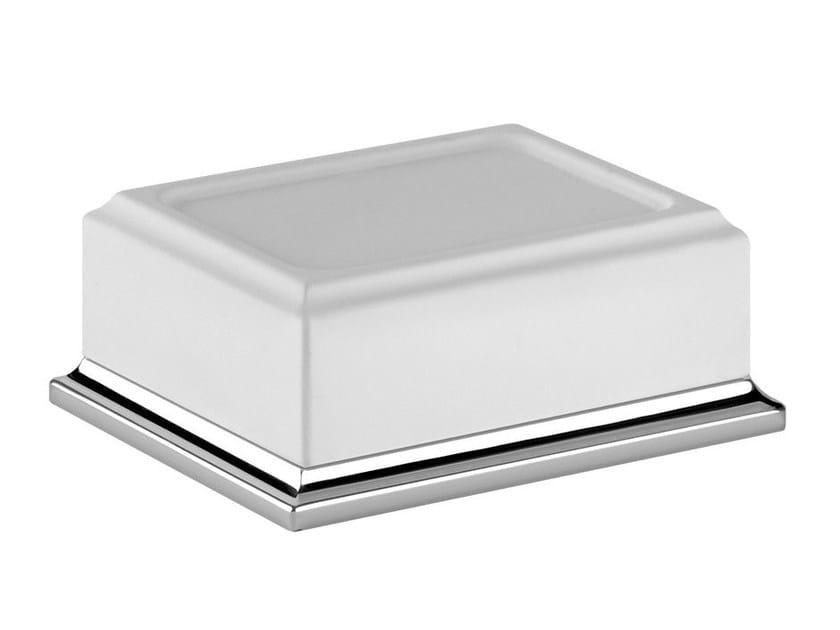 Countertop soap dish ELEGANZA ACCESSORIES 46425 by Gessi