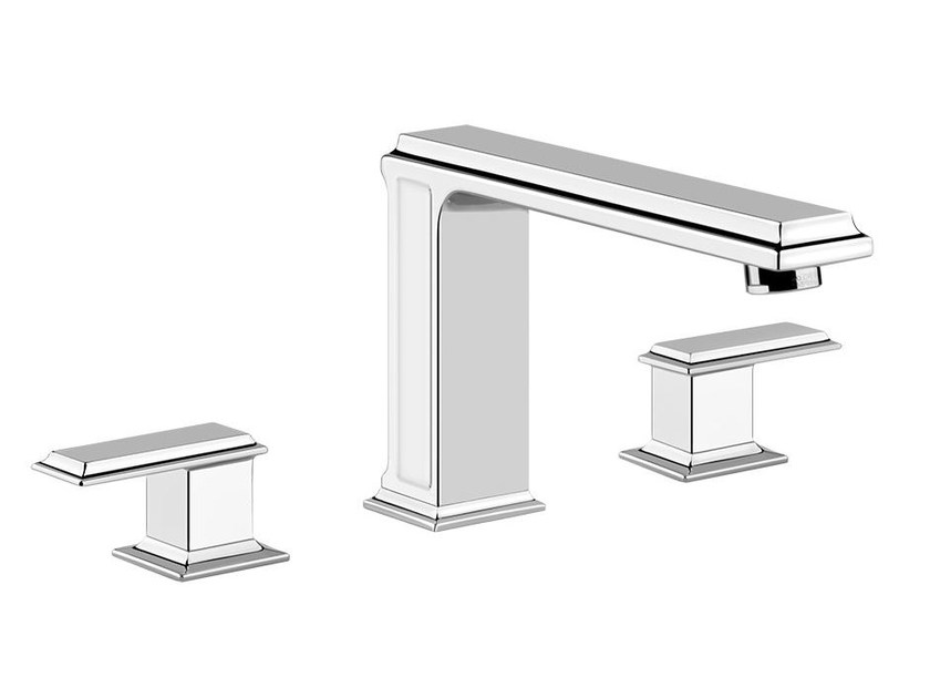 3 hole bathtub tap ELEGANZA BATH 46045 by Gessi