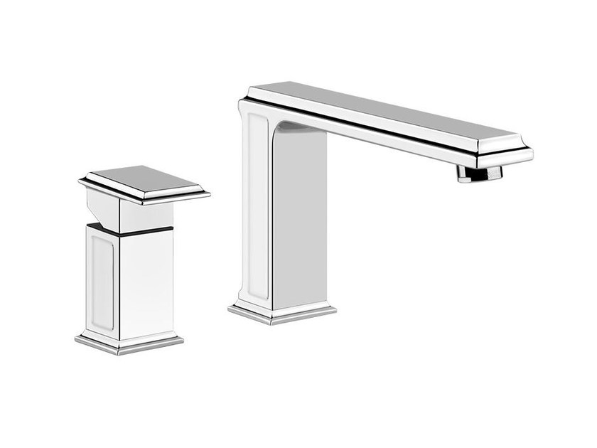 2 hole single handle bathtub tap ELEGANZA BATH 46047 by Gessi