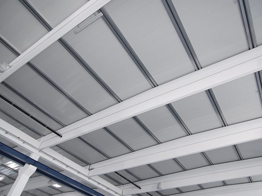 Insulated metal panel for roof ELEMENT ROOF by DOMICO
