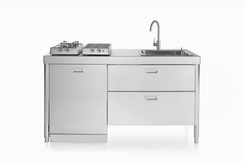 ELEMENTI CUCINA 160 | Contemporary style kitchen By ALPES-INOX