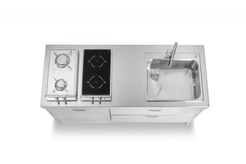 ELEMENTI CUCINA 160 | Küche im modernen Stil By ALPES-INOX
