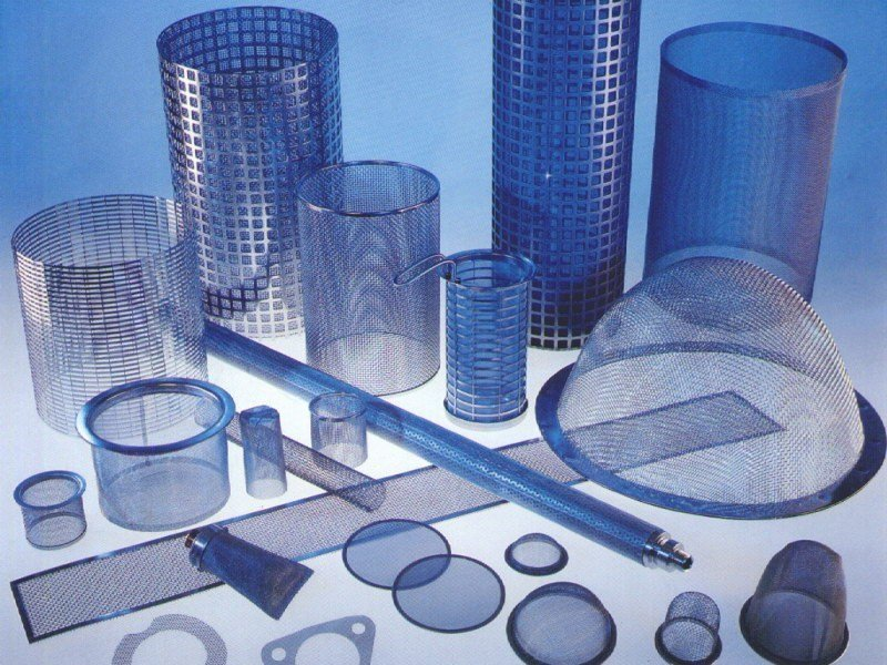 Filtering components made with wire cloth WIRE MESH FILTER by TTM Rossi