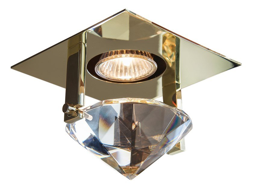 Round recessed metal spotlight ELEMENTS OF LOVE S1 by ILFARI