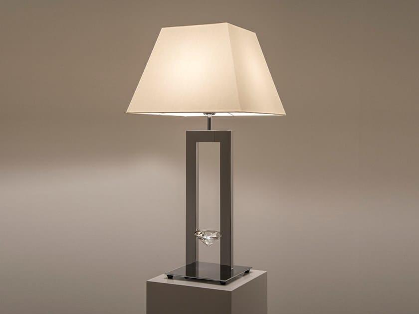 Lampada da tavolo a LED a luce diretta in metallo ELEMENTS OF LOVE T1 by ILFARI
