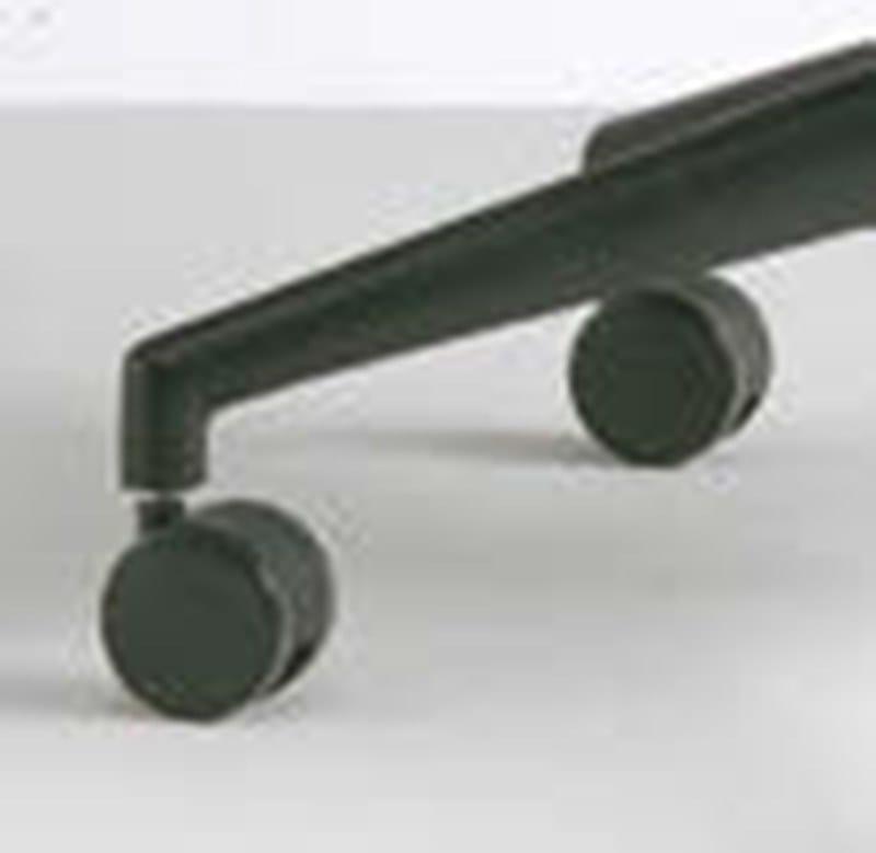 ELEMENTS Sedia ufficio operativa - Particolare base con ruote in materiale plastico