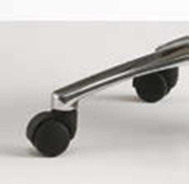 ELEMENTS Sedia ufficio operativa - Particolare base con ruote in pressofusione di alluminio lucido