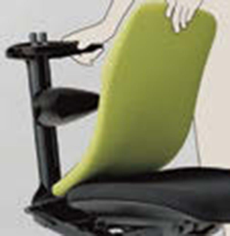 ELEMENTS Sedia ufficio operativa - Particolare schienale flessibile
