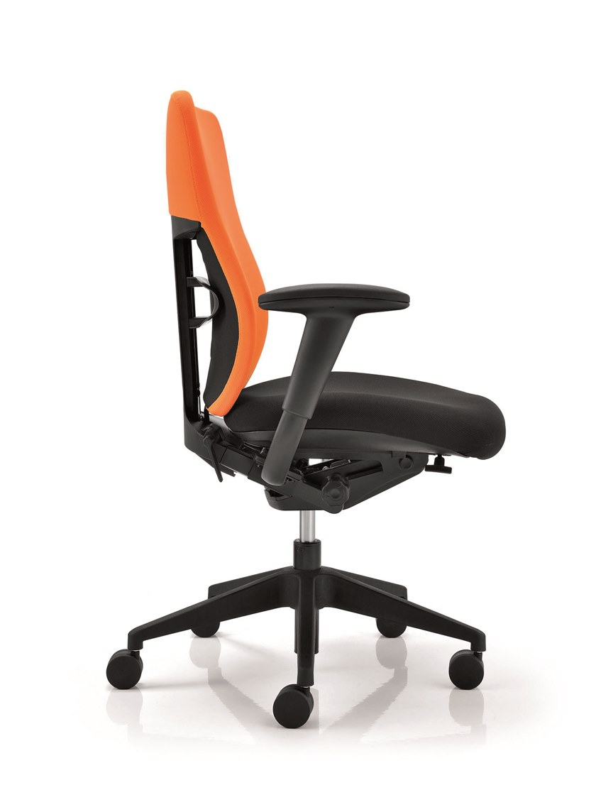 ELEMENTS   Sedia ufficio ELEMENTS Sedia ufficio operativa - Poltrona braccioli regolabili in altezza 3D, supporto lombare regolabile, base in alluminio e sedile scivolante