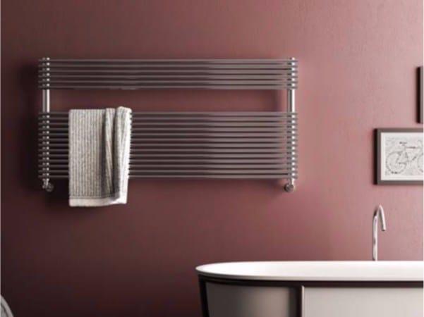 Horizontal wall-mounted towel warmer ELEN WIDE by CORDIVARI