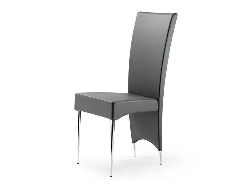High-back chair ELENOIRE by Cattelan Italia