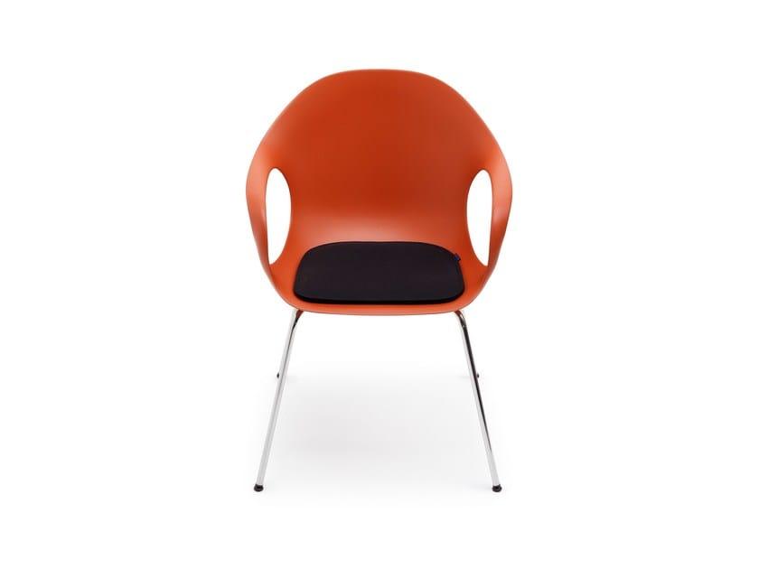 Felt chair cushion ELEPHANT by HEY-SIGN