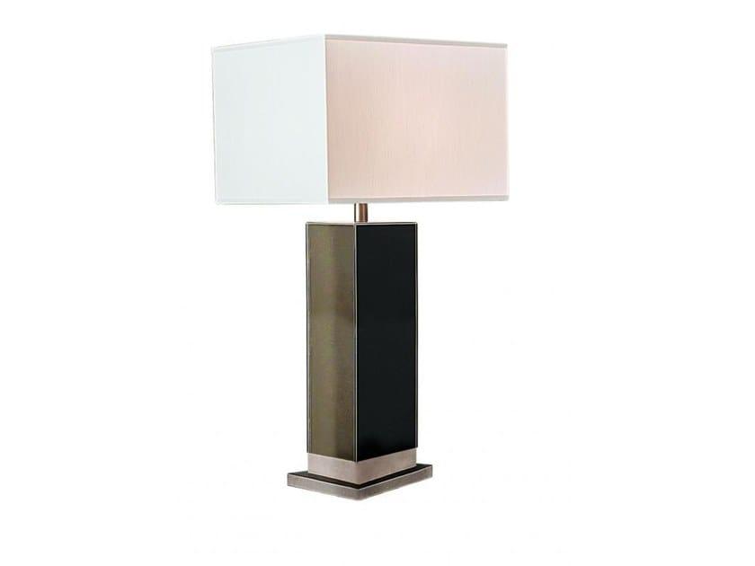Lámpara de mesa de tela ELETTRA BRONZE by Casamilano