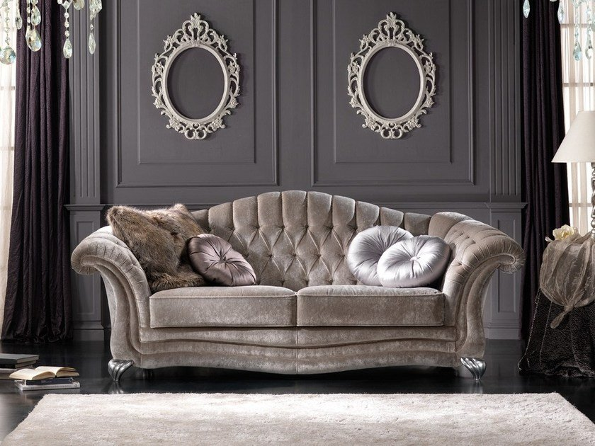 Tufted fabric sofa ELETTRA | Sofa by Gold Confort