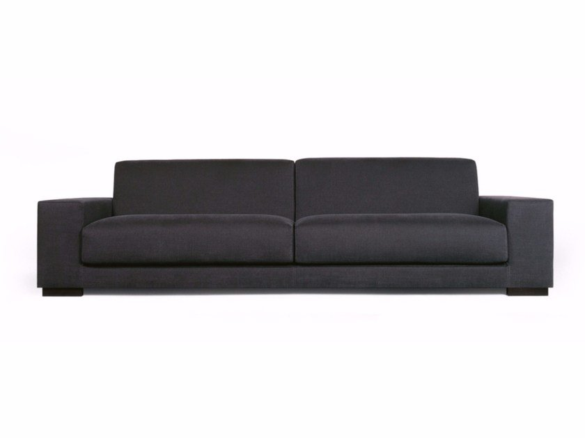 Fabric sofa with headrest ELEVA | Sofa by Sancal