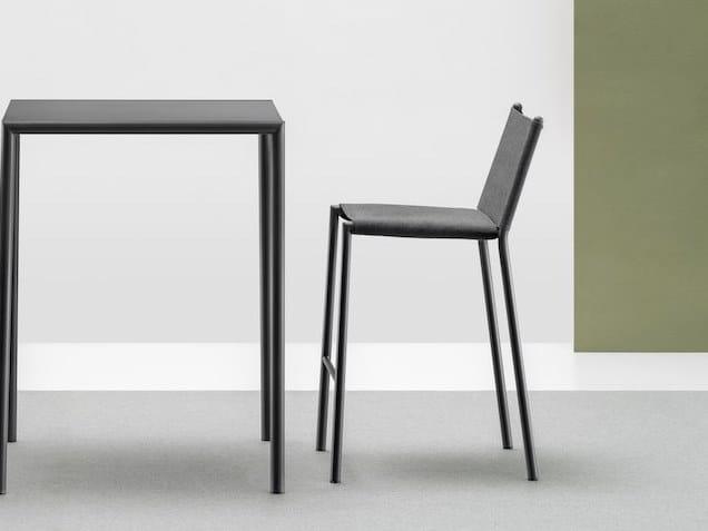 High fabric garden stool ELEVEN | Fabric stool by Terraforma
