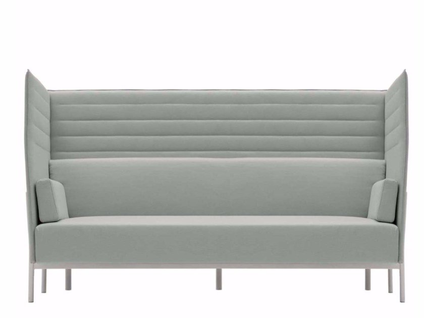 3 seater high-back fabric sofa ELEVEN HIGH BACK - 864 by Alias