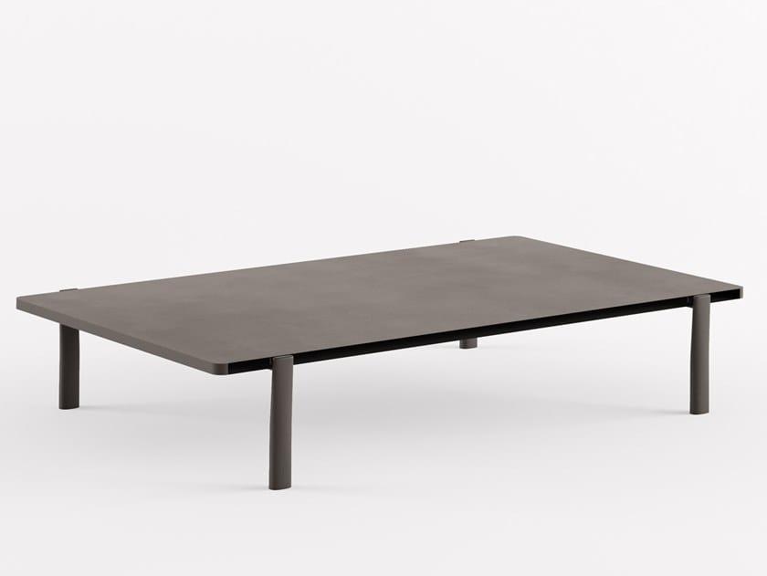 Table basse laquée rectangulaire en MDF ELEVEN TABLE SINGULAR - 955 | Table basse rectangulaire by Alias