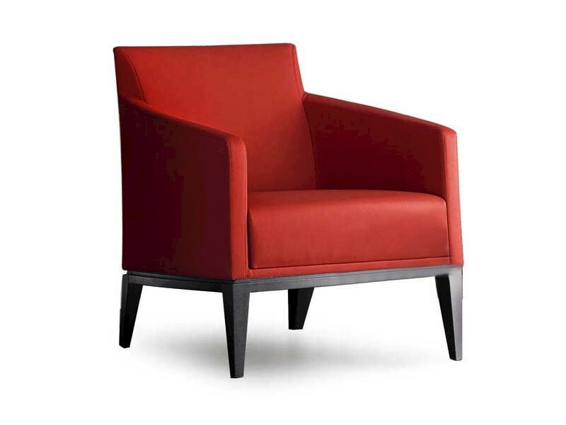Armchair with armrests ELIDE   Armchair by Potocco