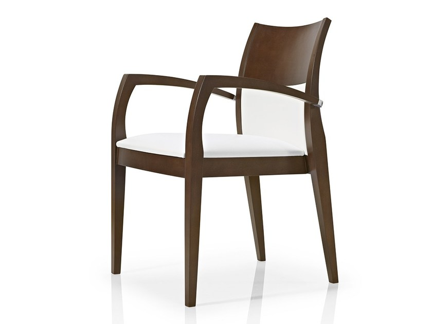 Chair with armrests ELIE | Chair with armrests by JMS