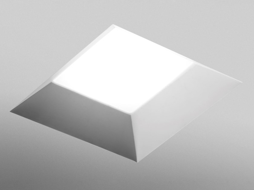 Recessed plaster ceiling lamp ELIMEA by Sforzin