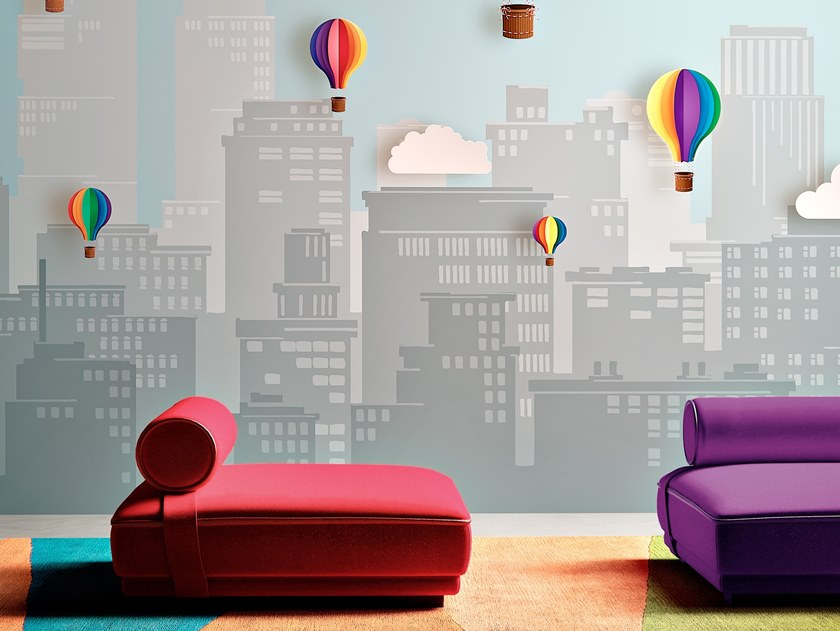 Vinyl wallpaper ELIO by Baboon