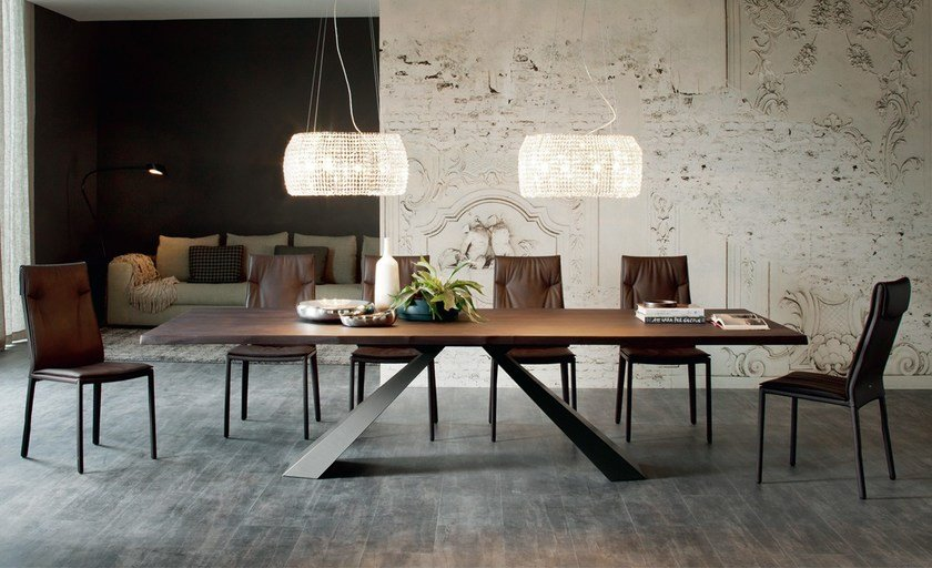 Rectangular wooden table ELIOT WOOD By Cattelan Italia design ...